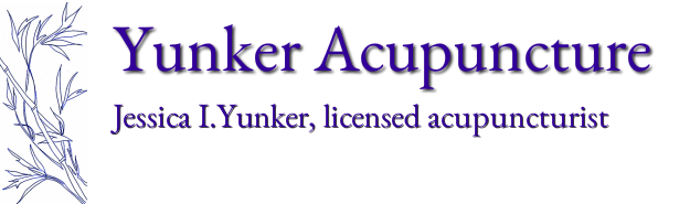Yunker Acupuncture<br /><br />Jessica Yunker, <br />licensed acupuncturist